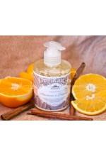 Жидкое мыло Апельсин и Корица,300мл
