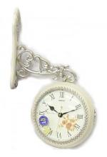 Настенные часы двусторонние на кронштейне 37*18*37 см
