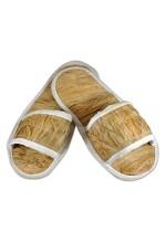 Тапочки лыковые для бани и сауны размер 37-38