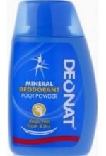 Минеральный порошок для проблемных ног с добавлением ментола Deonat, 50 гр.